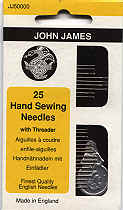 25 Hand Sewing Needles with Threader.bmp (78258 bytes)