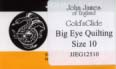 Gold 'n Glide- Big Eye Quilting size 10.jpg (6179 bytes)